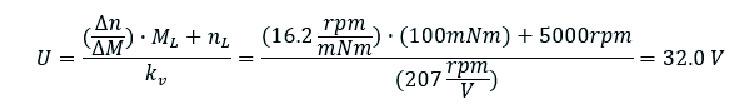 実際の回転数/トルク勾配を用いる場合