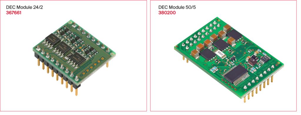 DEC moduleシリーズ(1-Q-ECアンプ)