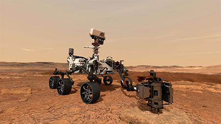 NASAの火星探査車「パーセベランス(Perseverance)」